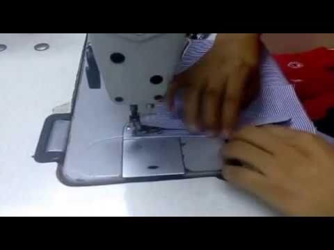 Como hacer aletilla de manga de camisa - YouTube
