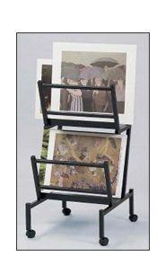 Print Racks & Art Racks Mini Gallery Art Bin - at SwingPanels