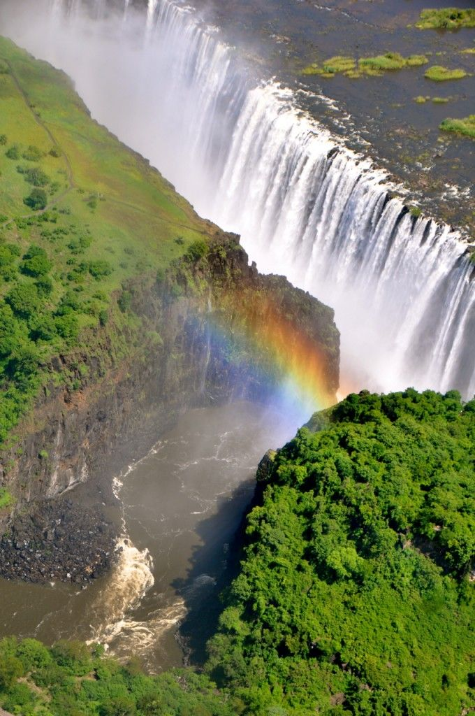 Victoria Falls, Zimbabwe. #Travel #Africa #Waterfall  #Photography