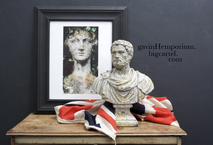 Still life with my statue print. The limited edition print is available now at .......  https:www.gavinhemporium.bigcartel.com