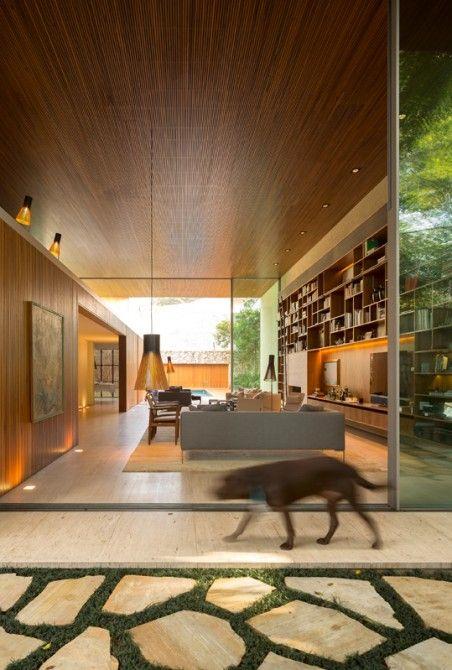 Chimney Haus moderne Architektur Brasilien