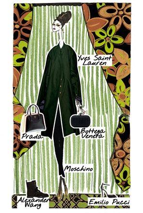 Look 2 - Lily - Verde Bosco