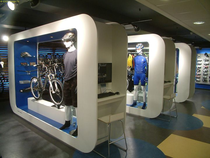 Chain Reaction Cycles retail shop by EDGE Design Fit, Ballyclare – Ireland