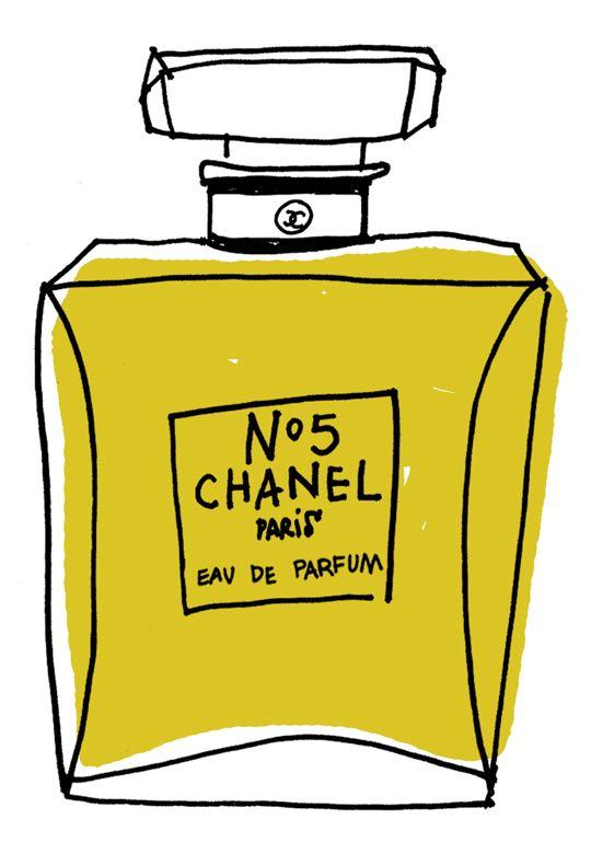 Vintage Chanel bottle