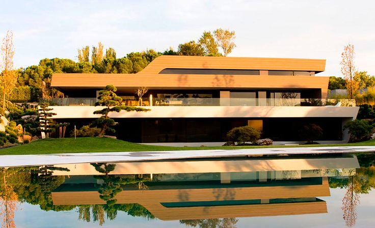 Футуристический дом Криштиану Роналду в Испании