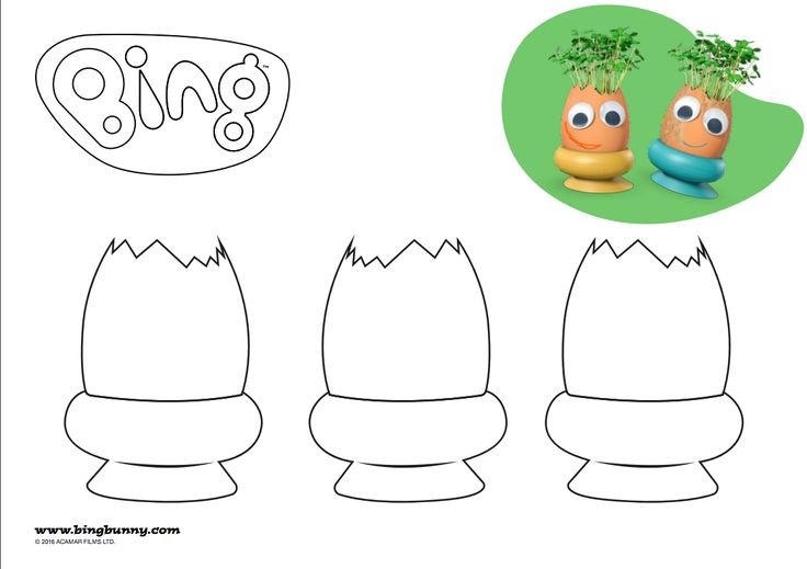 Colour in Eggy Heads