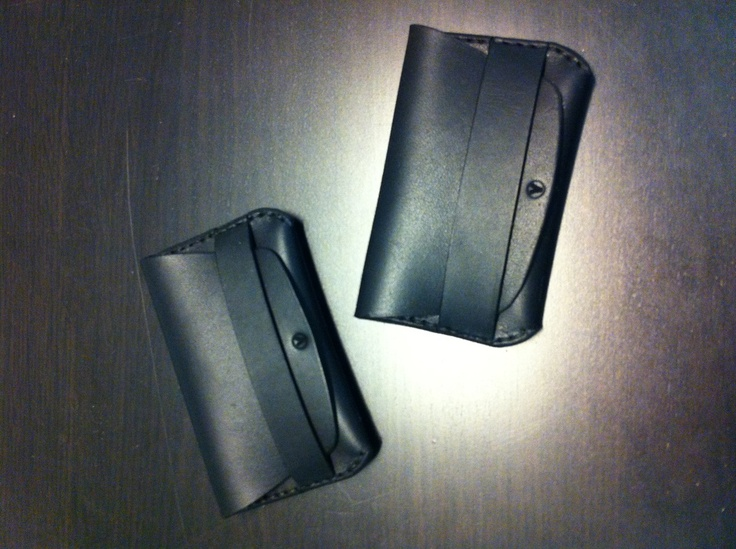 Fold Wallets, made to order. By Vormu.