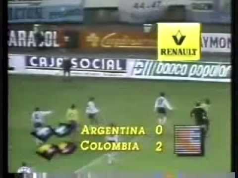 Argentina 0 Colombia 5 Partido Completo
