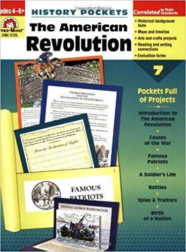 Amazon.com: History Pockets: The American Revolution (0023472037251): Evan Moor, Evan-Moor Educational Publishers: Books http://amzn.to/2p5X1LR