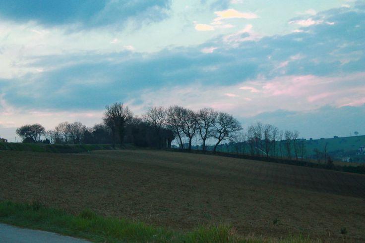 dalle campagne fuori Recanati..