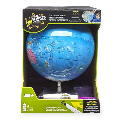 """Edu Science Interactive Globe with Smart Pen - Toys R Us - Toys """"R"""" Us"""