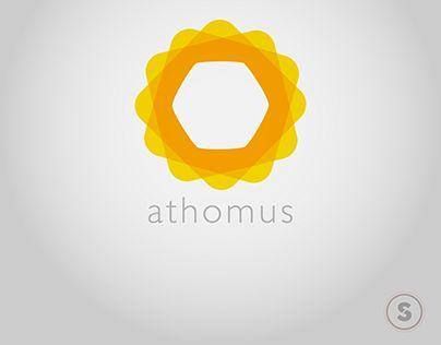 "Check out new work on my @Behance portfolio: ""Athomus Logo"" http://be.net/gallery/43904225/Athomus-Logo"