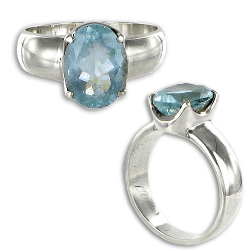 Best Aquamarine Rings Images On Pinterest Aquamarine Rings
