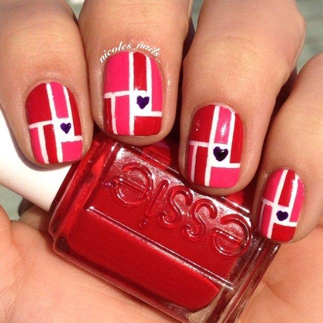 VALENTINE by nicoles_nails_  #nail #nails #nailart