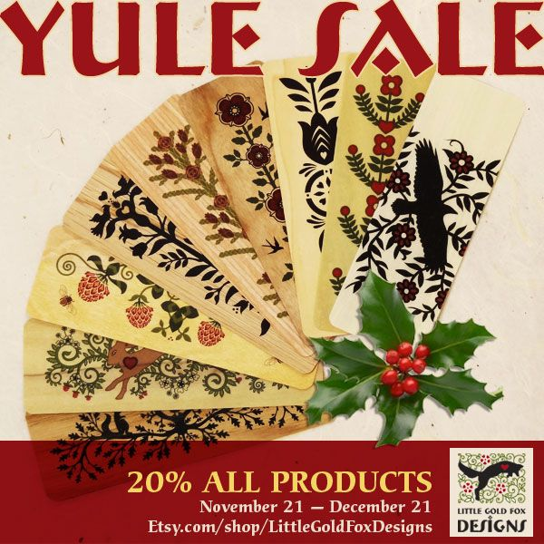 YULE SALE! 20% OFF EVERYTHING!