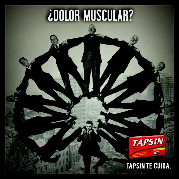 ¿Tienes dolor muscular?  No hay problema, Tapsin Analgésico lo soluciona.  #tapsin #analgesico