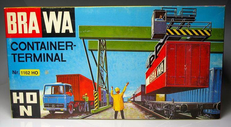 BRAWA 1162 Crane Containers