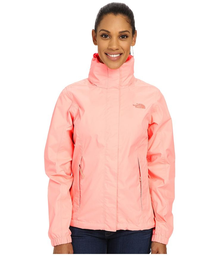 THE NORTH FACE THE NORTH FACE - RESOLVE JACKET (NEON PUNCH) WOMEN'S COAT. #thenorthface #cloth #