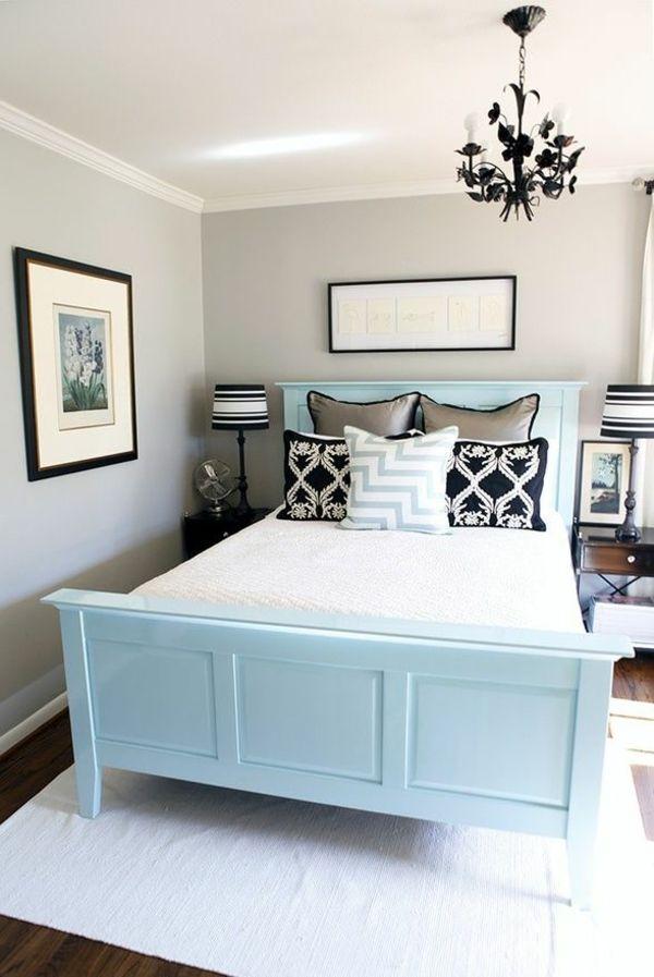 helle wandfarben grau matt schlafzimmer neutrale farbgestaltung