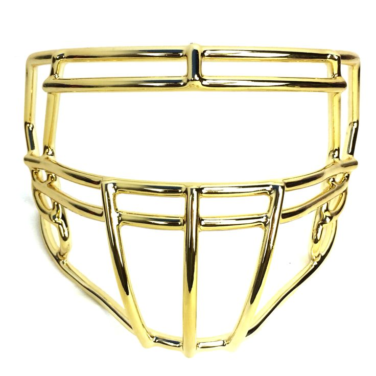 Riddell football helmet speed facemask s2bdc with gold