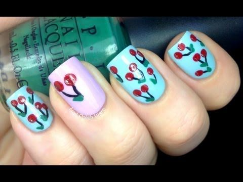 Cherry Nail Art Designs How To With Nail designs and Art Design Nail Art About Cute Beginners Nails