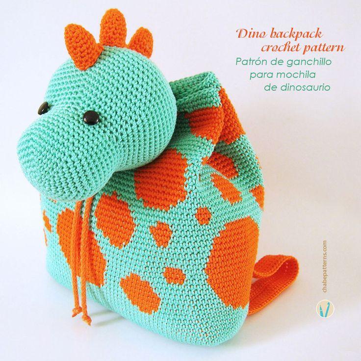 Tutorial Amigurumi Dinosaurio : Dinosaurios En Crochet apexwallpapers.com