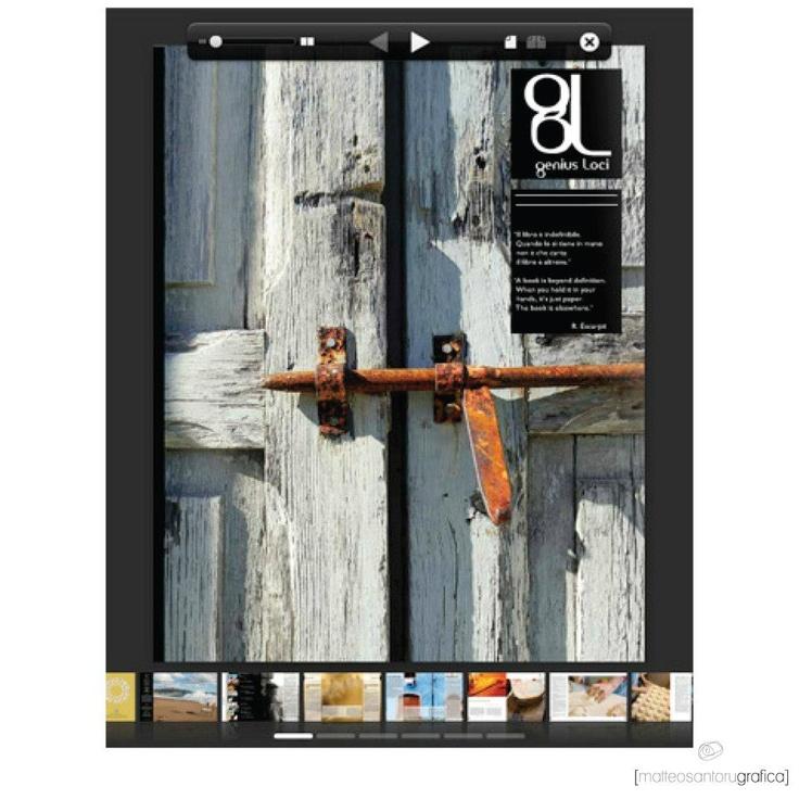 Rivista fotografica-culturale sulla sardegna. Impaginazione e grafica.    http://issuu.com/stilnovo/docs/genius_loci_2