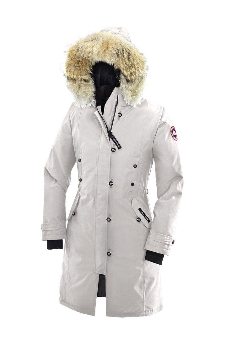 Canada Goose vest replica discounts - CANADA GOOSE KENSINGTON PARKA WOMEN Silverbirch   canada goose ...