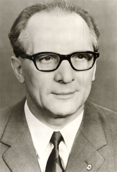 Erich Honecker in May 1974