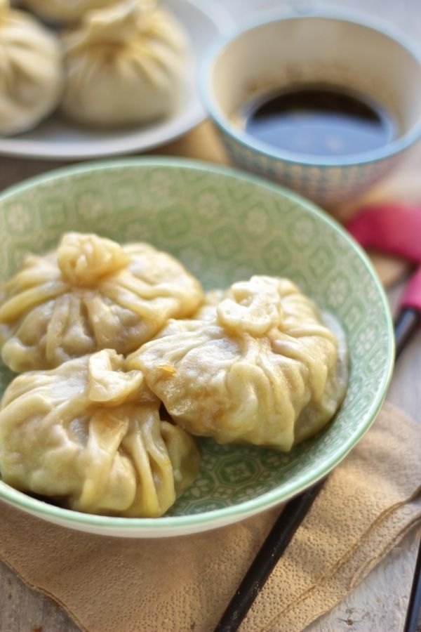 Momo vegetariani a modo mio,  street food tibetano preparato  nella mia cucina