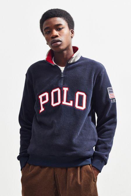 3b01a262b57c84 Polo Ralph Lauren Polar Fleece Half-Zip Sweatshirt | moods | Polo ...