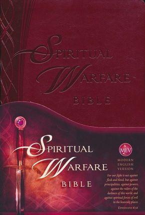 The Spiritual Warfare Bible: Modern English Version (MEV), Leather, imitation
