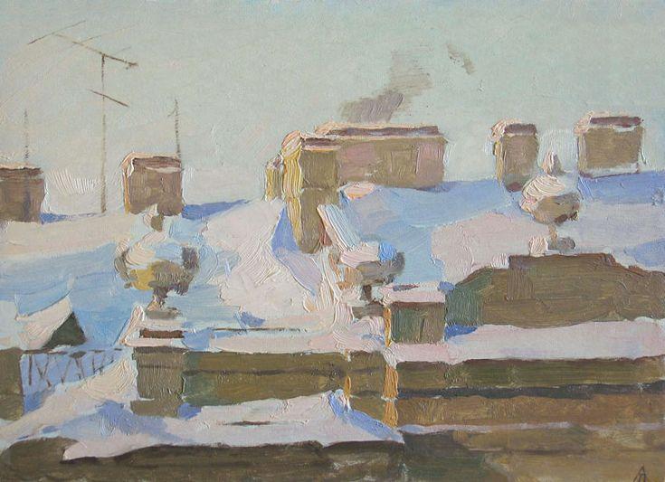Taisia Afonina - Telhado, 1957