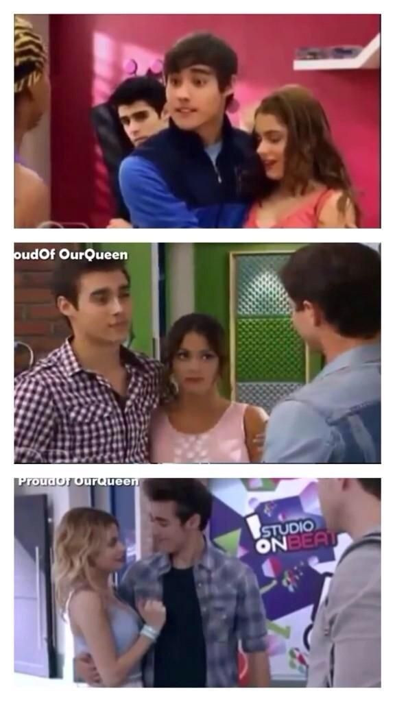 #Violetta He is VERY protective!