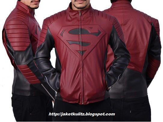 Jaket Kulit Man of Steel Logo Superman, Pesan Online via WhatsApp : 0817 0340 2482 Free Ongkos Kirim! http://jaketkulitz.blogspot.com/2017/01/jaket-kulit-superman.html