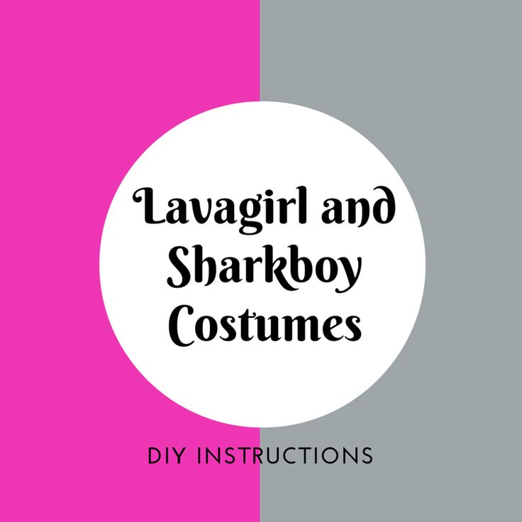 Check out our do it yourself Lava Girl and Shark Boy Costume tutorial, great for your child for fancy dress parties, dress up aswell as Halloween.