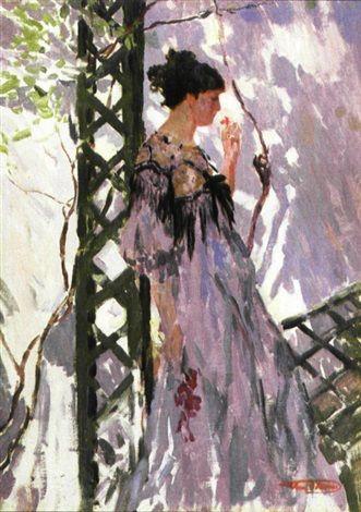 Mijmering by Henri Joseph Thomas