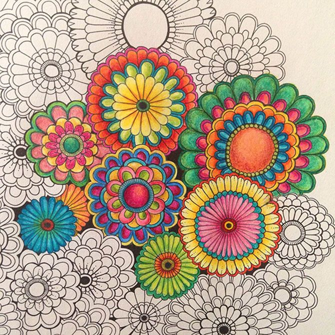 Beautifully Coloured In Image From The Secret Garden Inky Treasure Quest And Colouring Book Available At Utility