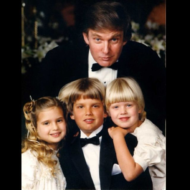 ... Trump Young on Pinterest | Aging gracefully, Donald trump and Being