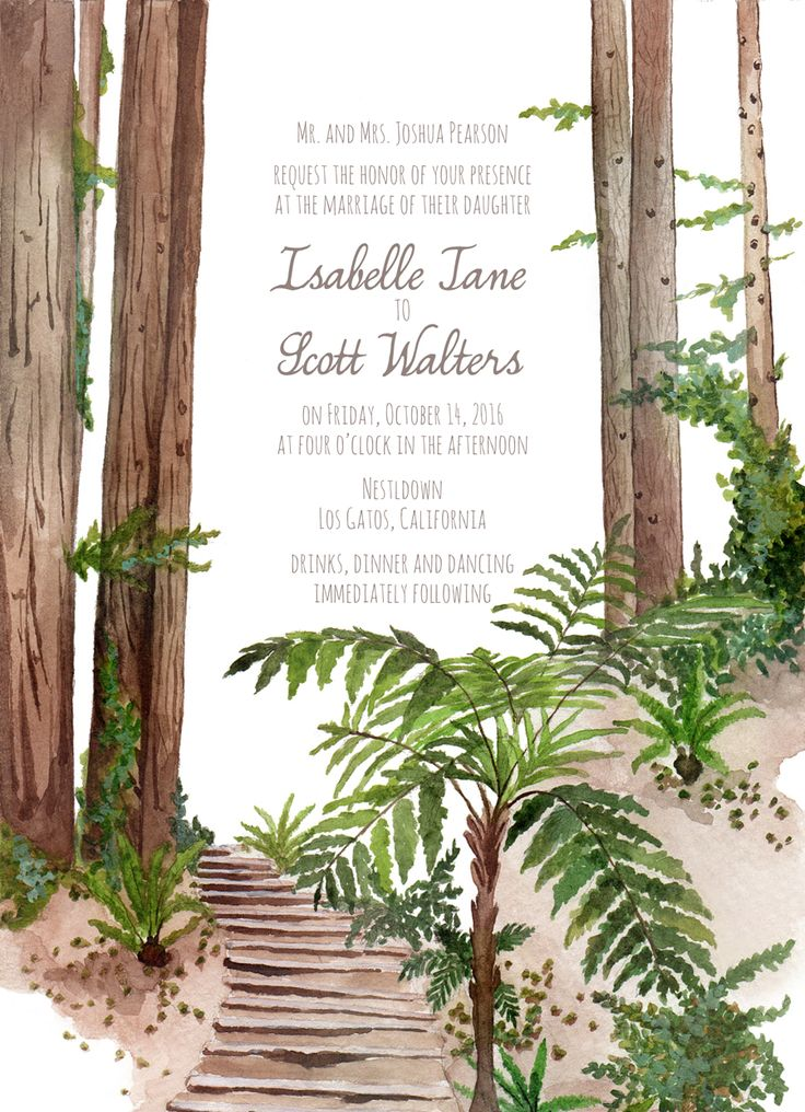13 best Arelor Invitations images on Pinterest | Watercolor wedding ...