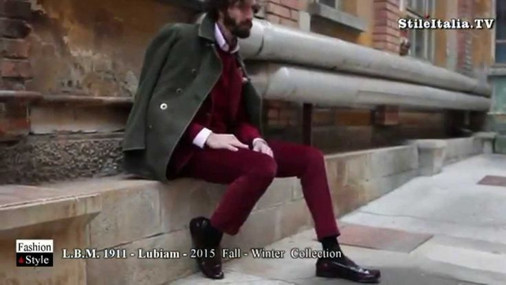"""""""Italian Gentleman"""" - """"L B M  1911"""" - """"Lubiam"""" - """"2015 Fall Winter """"- """"I..."""