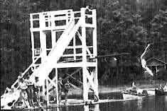 Old Photo of Main Beach Cultus Lake