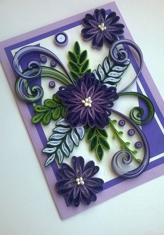 Quilling Card  Quilled...
