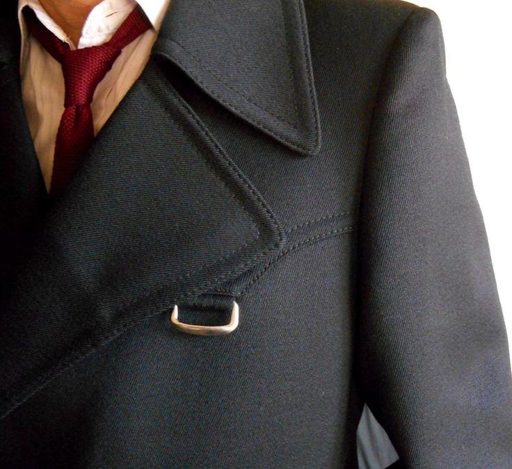 cappotto uomo inglese vintage coat gabardine vintage '70 taglia 48 in Abbigliamento e accessori, Uomo: abbigliamento, Cappotti e giacche   eBay