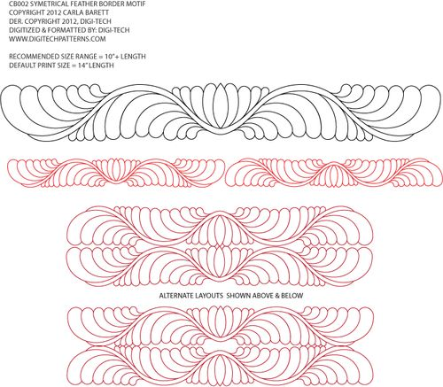 Longarm Quilting Stencils : 2702 best images about free motion machine quilting designs on Pinterest