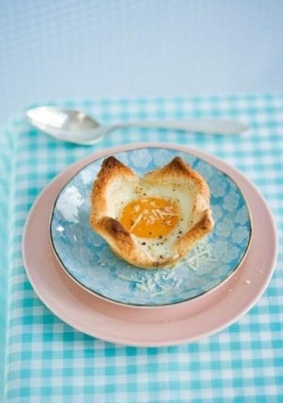 Nested Egg: Idea, Eggs, Cups, Breakfast, Food, Recipes, Sweet Paul, Spring