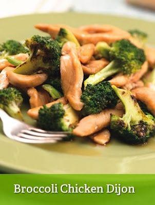 obiad kurczak+brokuł (można dodać sos śmietana+ser żółty)