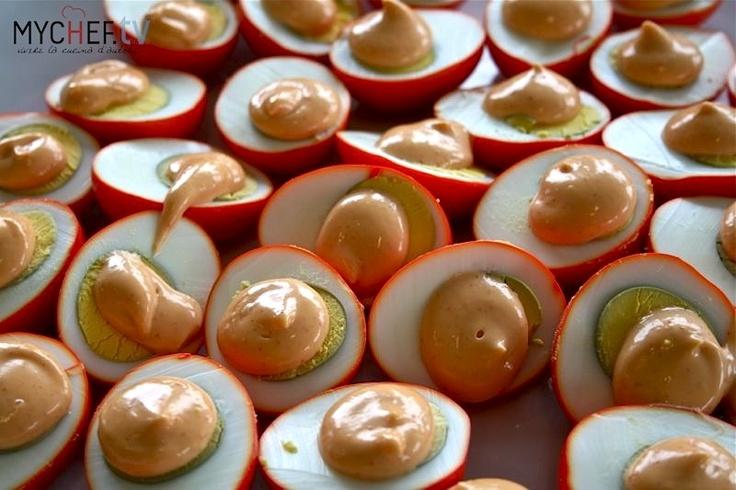 Pickled eggs, uova in salamoia - Eugenio Roncoroni e Beniamino Nespor