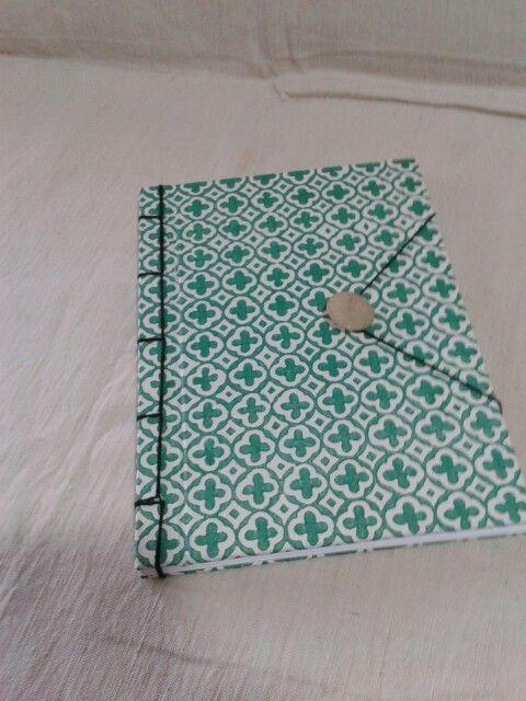 Quaderno fatto a mano con rilegatura giapponese