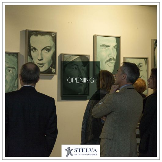 """Shi Xinning """"Modern Times"""" - Opening - Works made during the stay """"Stelva Artist in Residence"""" in Desenzano del Garda. November, 13th 2015 Camelliae Tea Lounge, Castiglione delle Stiviere (MN)  #artistinresidence http://bit.ly/shixinning"""